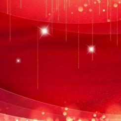 红色喜庆年度表彰颁奖典礼PPT模板