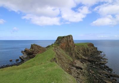 苏格兰海边风景5k壁纸