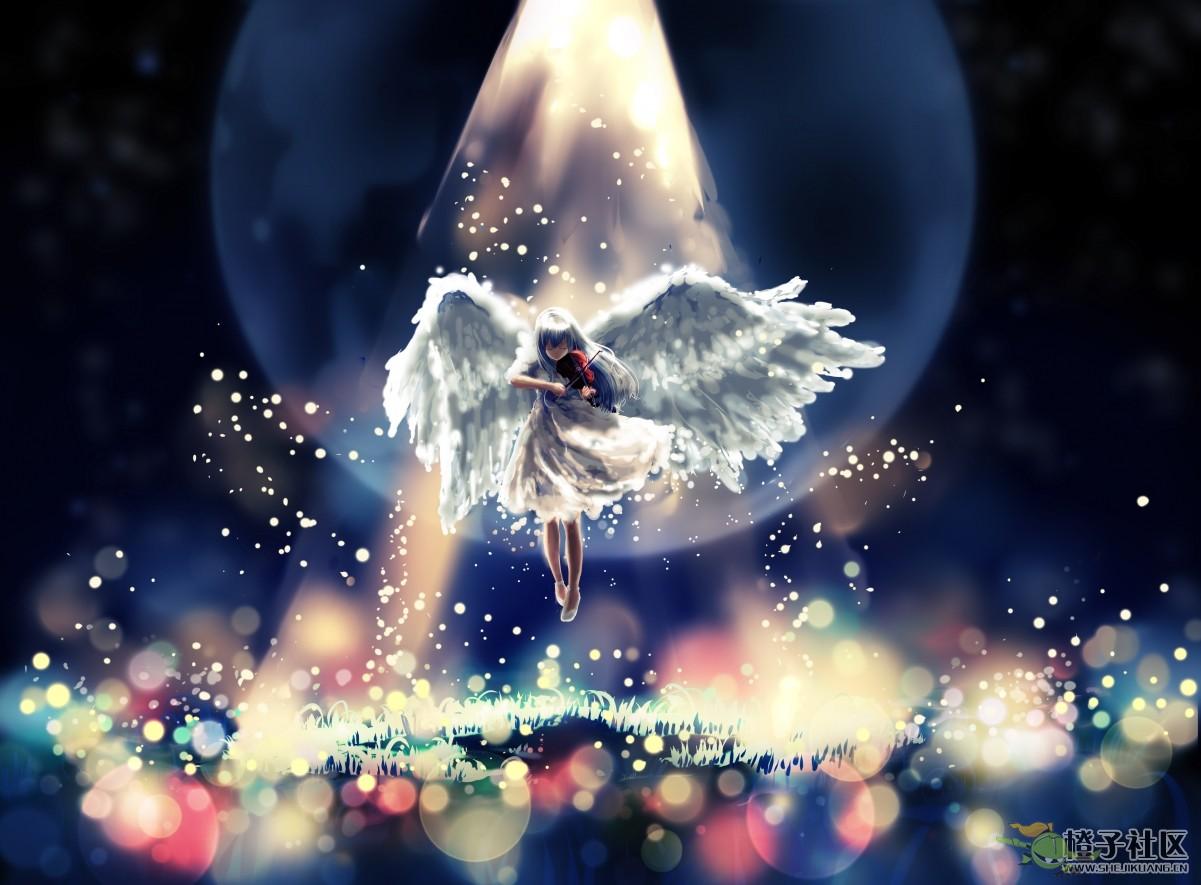 小天使萤火虫摇篮曲4k动漫壁纸