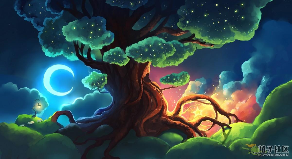 星树4k壁纸 by Chibionpu